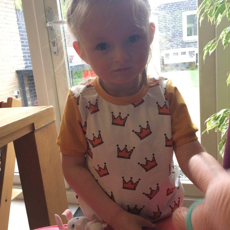 Isa en t-shirt kroon creme