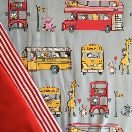 Stof onderweg - tricot