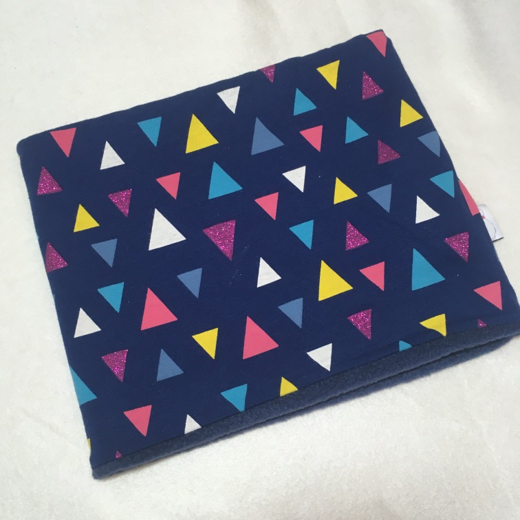 Colsjaal driehoek met glitter